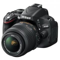 Nikon D5100 16.2MP Digital SLR Camera (Body + AF-S