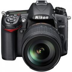 Nikon D7000 16.2MP Digital SLR Camera (Body + AF-S