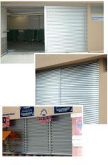 Duodex aluminium shutter