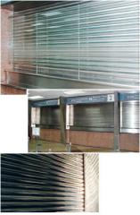 Stainless Steel Shutter