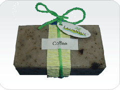 Natural Handmade Soap - Coffee Scrub