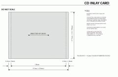 CD Inlay Card