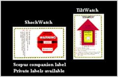 Shockwatch & Tiltwatch