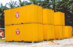 Painted Containers