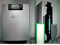 Home Anion Air Purifier with UV Lamp, Cleanature