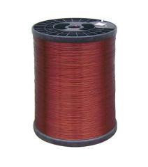 Enamelled aluminum magnet wire