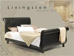 Upholstery Double Bed Livingston