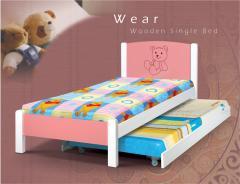 Wooden Single Bed Wear