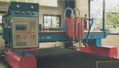 Satronik D CNC Controlled Cutter