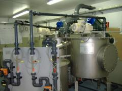 Water Treatment Plant Lime Silo System