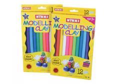 12 Big Modelling Clay Sticks