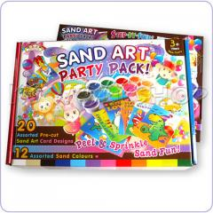Sand art Party package for 20 childrens