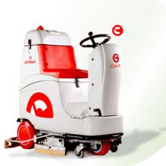 Comac Tripla-24 Battery-Op Ride-On Auto-Scrubber