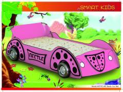 603TST-01 Pink Beetle car bed