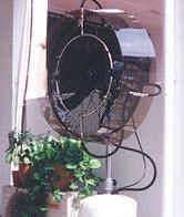 Portable type mist fan