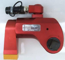 Hydraulic torque wrench square drive sd