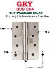 Standard hinges