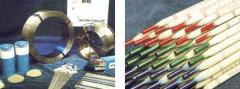 Consumables for aerospace, shemical, forestry,