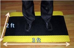 ESD anti-fatigue Rubber Mat