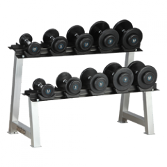 HL-R902 2.5-25kg Dumbbell Set with Rack