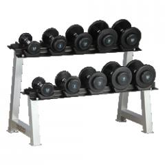 HL-R902 2.5-25kg Dumbbell Set with Rack