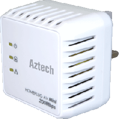 HomePlug HL112E AV 200Mbps Mini Ethernet Adapter