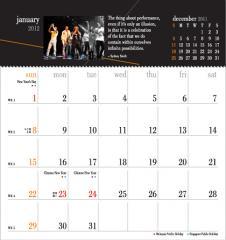 Calendar, Let's Celebrate