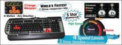 X7-G800 3xFast Gaming Keyboard