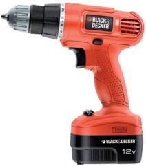 BLACK & DECKER 12V Cordless Drill EPC 12