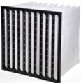 Bag filters glass fibre media
