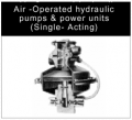 Air Driven Hydraulic Pumps Gas Booster Power Units
