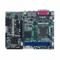 LGA775 Intel® Core™2 Duo Micro ATX Industrial Motherboard with Intel® Q965 + ICH8DO Chipset, Dual LANs and Audio