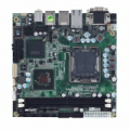 LGA775 Intel® Core™2 Quad/ Core™2 Duo Mini ITX SBC with Intel® Q35 + ICH9 Chipset, DVI/LVDS, PCI Express x4 and Firewire