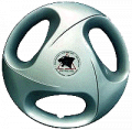 Car wheel side cover