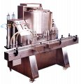 Double Jacketed Double Paste Filling Machine (Automatic)