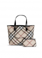 Burberry Nova Check Tote (Beige) Bag