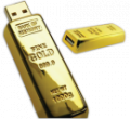 GoldBar USB Flash Drive