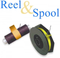 Reel and Spool Rubber Band