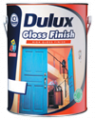 High gloss finish for interior and exterior wood & metal