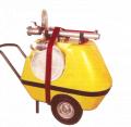 Trailer foam extinguisher