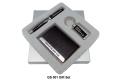 Gift Set Keychain,Name Card Holder & Pen
