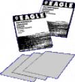 EAGLE Brand Aluminum Oxide Waterproof Abrasive Paper, Flexible back