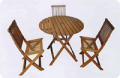 Folding Chair Round Bar
