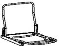 Tubular Steel Frame for Sofa