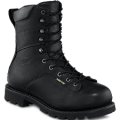 Black Yukon Leather Boots