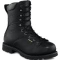 Black Yukon Leather Boots