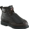 Dark Brown Pueblo Leather Boots