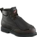 Dark Brown Pueblo Leather Boots
