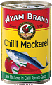 Chilli mackerel in tomato sauce 425g