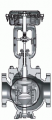 CV3000 Alphaplus series Electric Top-Guided Single-Seated Control Valves